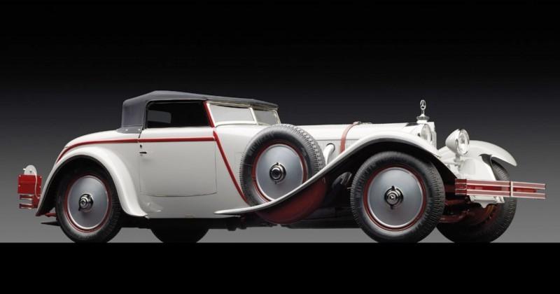 1928 Mercedes-Benz 680S Torpedo Roadster by Carrosserie J. Saoutchik 1