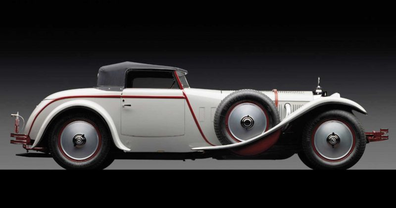 1928 Mercedes-Benz 680S Torpedo Roadster by Carrosserie J. Saoutchik 5