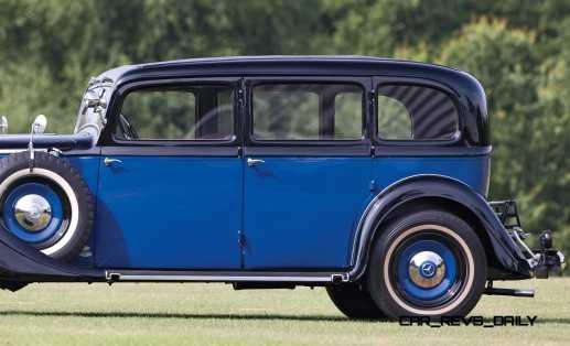 1933 Mercedes-Benz 290 Pullman 2