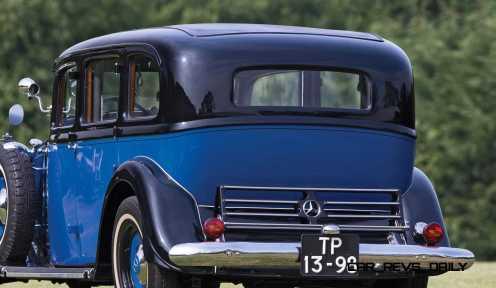 1933 Mercedes-Benz 290 Pullman 4