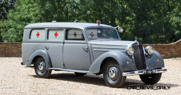 1952 Mercedes-Benz 170SV Ambulance 1