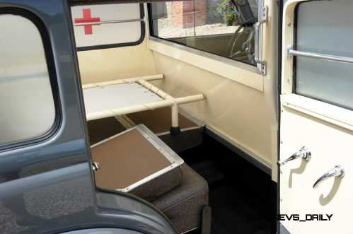 1952 Mercedes-Benz 170SV Ambulance 12