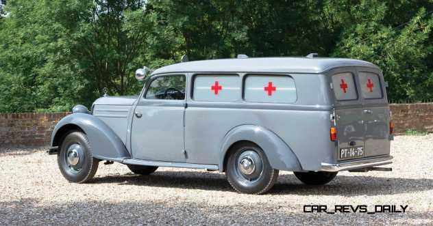 1952 Mercedes-Benz 170SV Ambulance 2