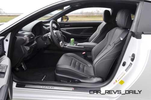 2015 Lexus RC350 F Sport Interior 8