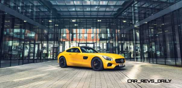 2015 Mercedes-AMG GT S Yellow 10
