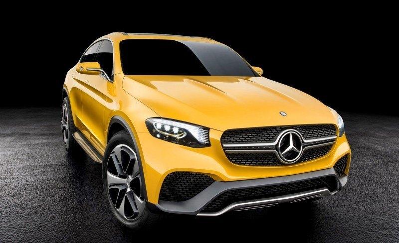 Mercedes-Benz Concept GLC Coupé