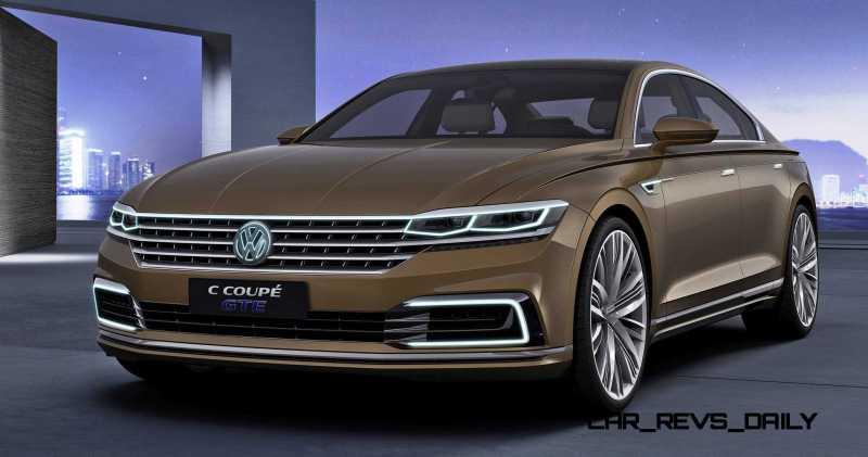 2015 Volkswagen C Concept GTE 29