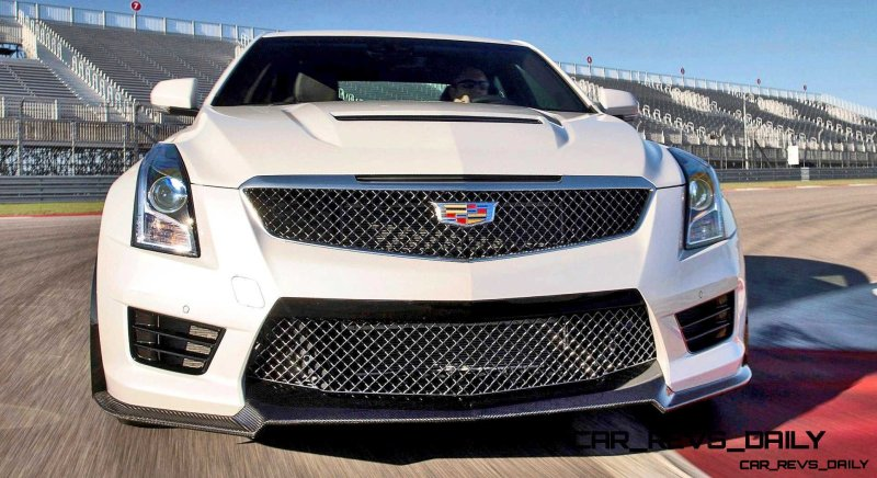 2016 Cadillac ATS-V 18