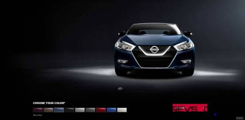 2016 Nissan Maxima Colors and Trims 4