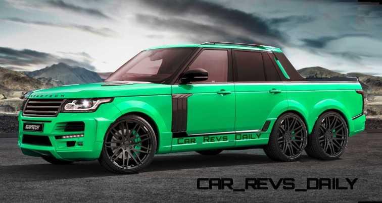 Digital Renderings - StarTech Range Rover 6x6 Long-Box Pickup Truck - 2 Angles + 30 Colors 20