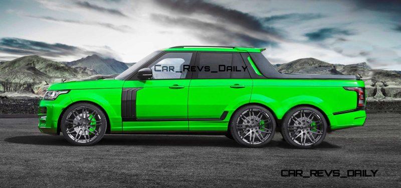 Digital Renderings - StarTech Range Rover 6x6 Long-Box Pickup Truck - 2 Angles + 30 Colors 27