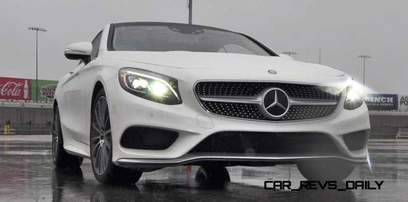 First Drive Review - 2015 Mercedes-Benz S550 Coupe 73