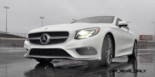 First Drive Review - 2015 Mercedes-Benz S550 Coupe 84