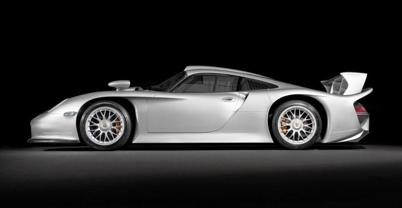 LeMans Homologation Specials - 1998 Porsche 911 GT1 Evo Strassenversion 4