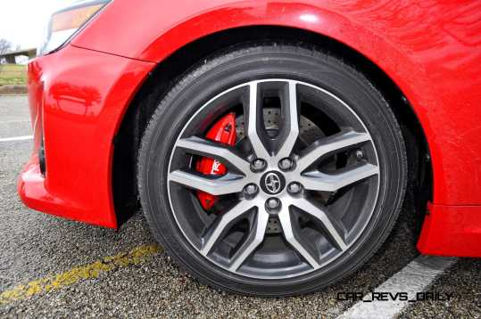 Road Test Review - 2015 Scion tC 6-Speed With TRD Performance Parts 109