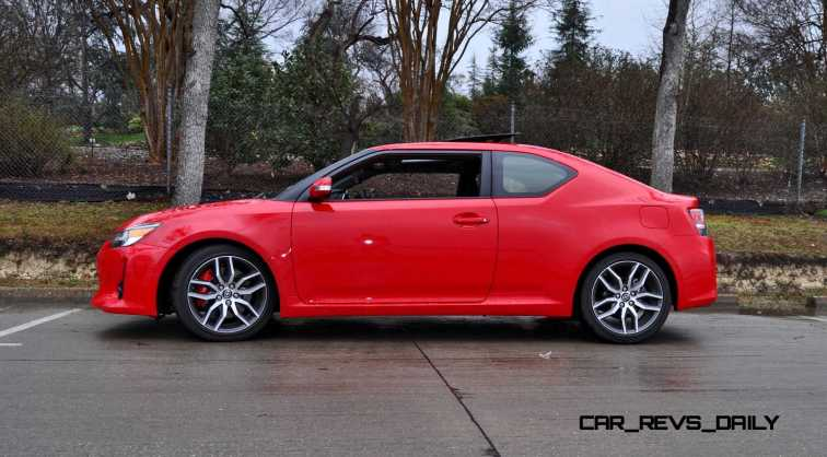 Road Test Review - 2015 Scion tC 6-Speed With TRD Performance Parts 17