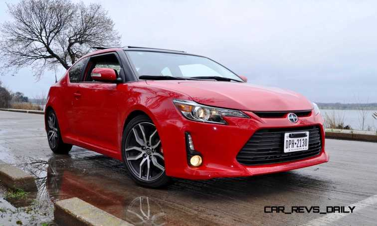 Road Test Review - 2015 Scion tC 6-Speed With TRD Performance Parts 50