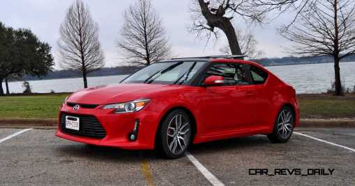 Road Test Review - 2015 Scion tC 6-Speed With TRD Performance Parts 73
