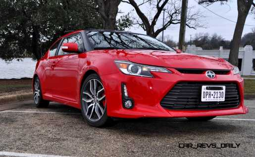 Road Test Review - 2015 Scion tC 6-Speed With TRD Performance Parts 96