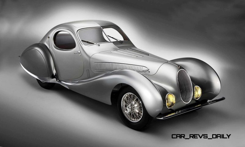1938 Talbot-Lago T150-C SuperSport Teardrop Coupe 5
