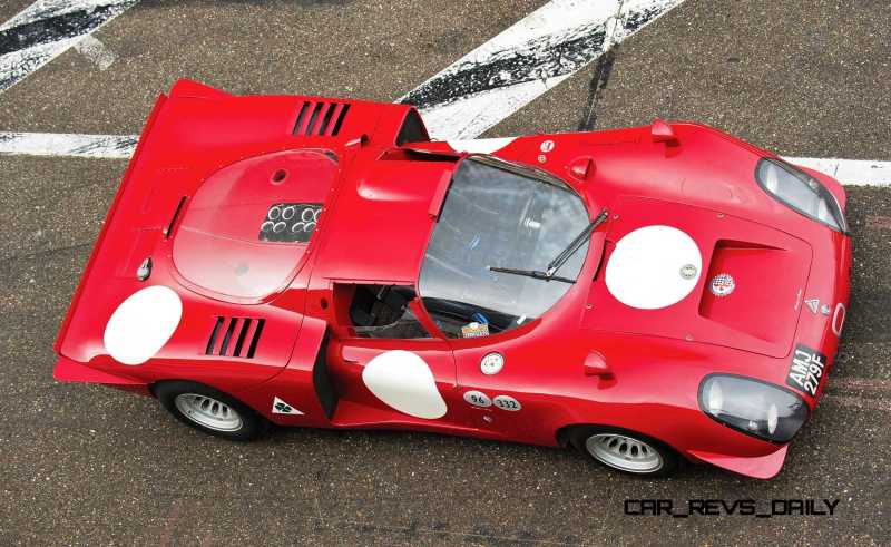 1968 Alfa Romeo T33-2 Daytona 19