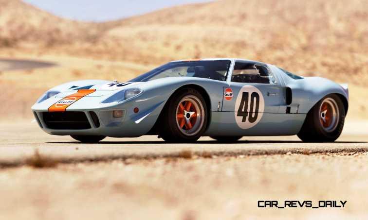 1968 Ford GT40 Gulf Mirage Lightweight LM Racecar 31