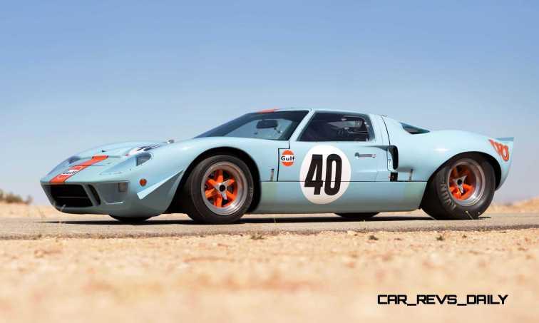 1968 Ford GT40 Gulf Mirage Lightweight LM Racecar 32