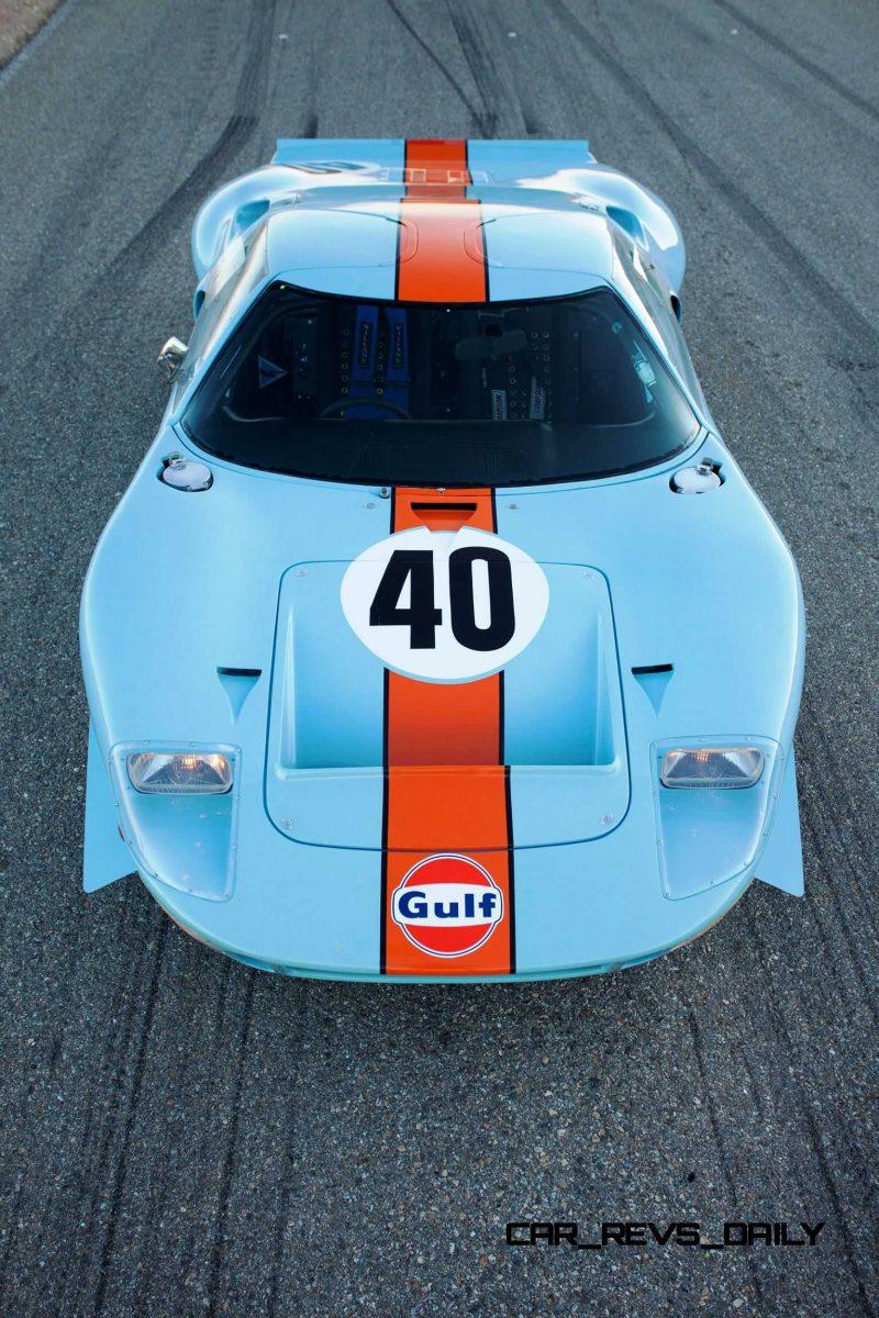 1968 Ford GT40 Gulf Mirage Lightweight LM Racecar 37