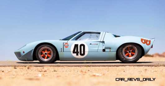 1968 Ford GT40 Gulf Mirage Lightweight LM Racecar 5
