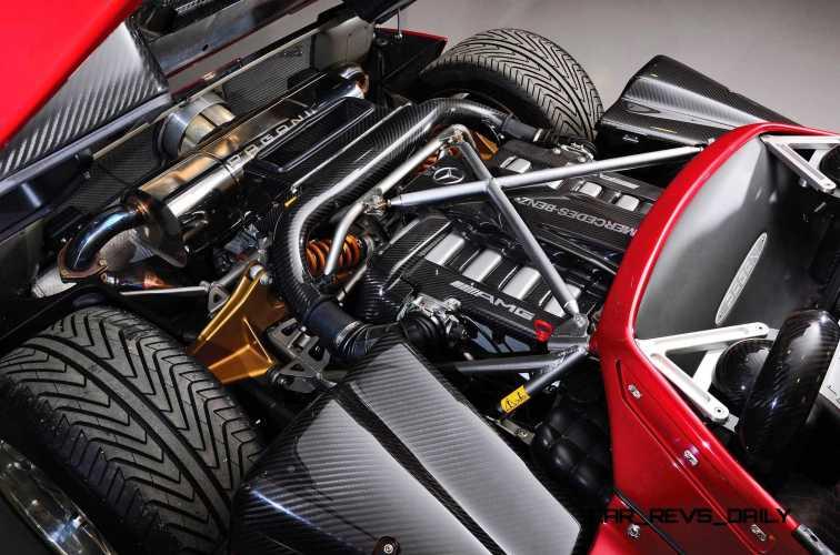 2005 Pagani Zonda S Roadster 21