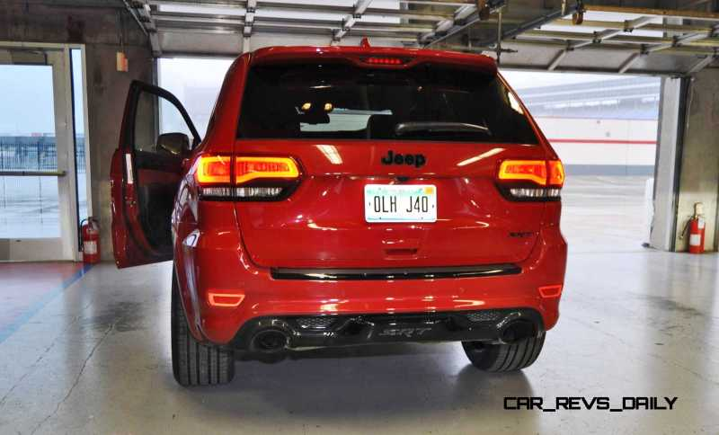 2015 Jeep Grand Cherokee SRT  7