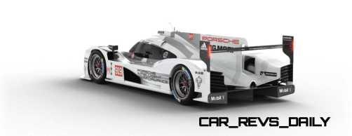 2015 Porsche 919 Hybrid 360-degree Turntable Images 42