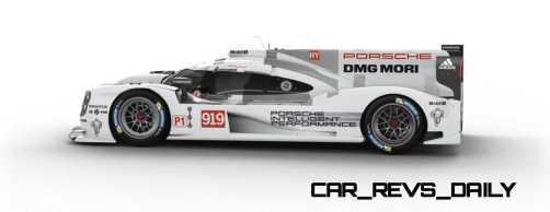 2015 Porsche 919 Hybrid 360-degree Turntable Images 48