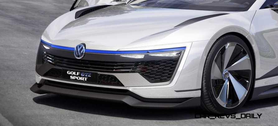 2015 VW Golf GTE Sport Concept 35