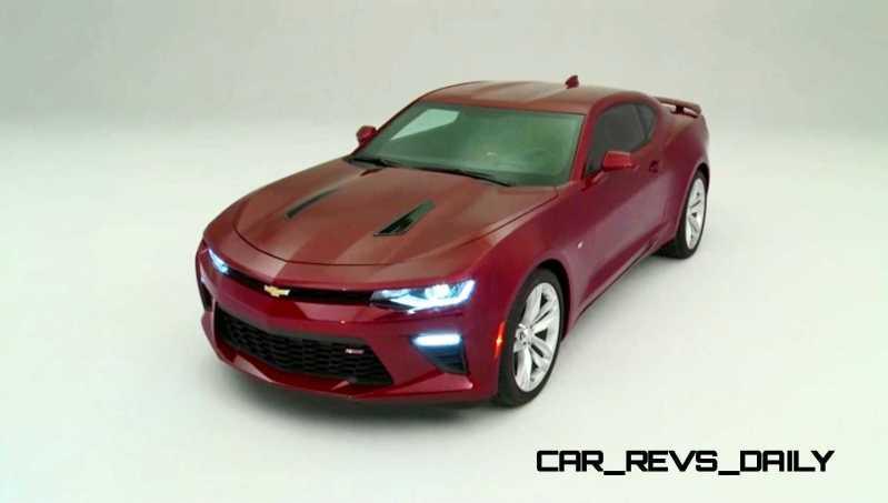 2016 Chevrolet Camaro Flyaround Studio Photos 36