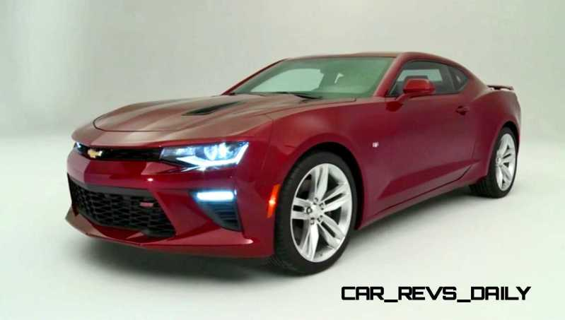 2016 Chevrolet Camaro Flyaround Studio Photos 45