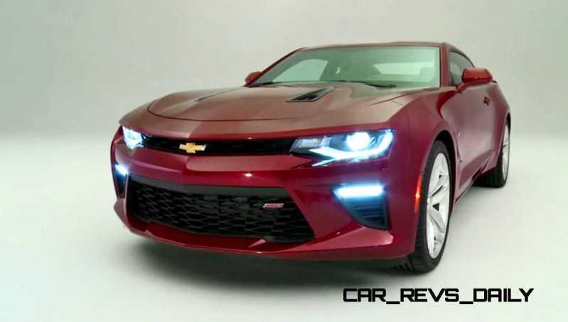 2016 Chevrolet Camaro Flyaround Studio Photos 48