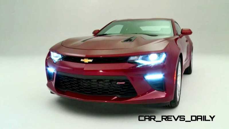 2016 Chevrolet Camaro Flyaround Studio Photos 49