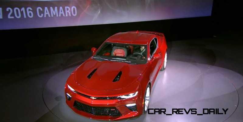 2016 Chevrolet Camaro Live Reveal 14