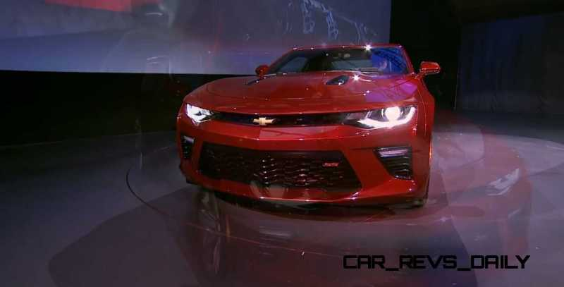 2016 Chevrolet Camaro Live Reveal 21