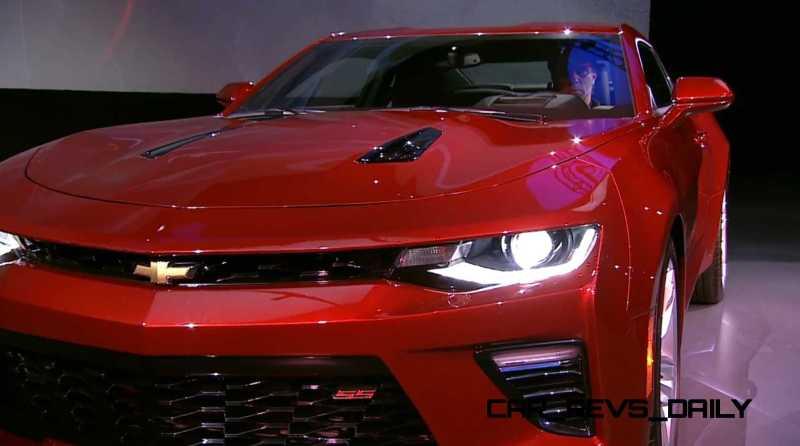 2016 Chevrolet Camaro Live Reveal 27