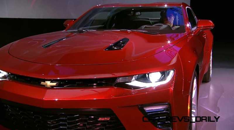 2016 Chevrolet Camaro Live Reveal 29