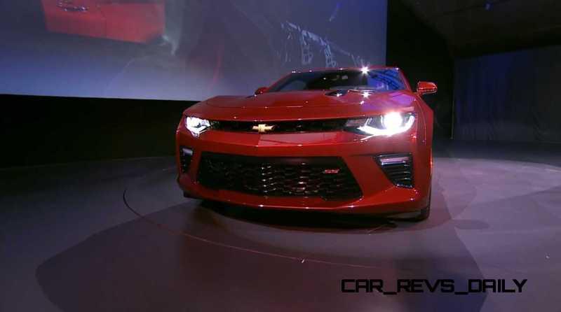 2016 Chevrolet Camaro Live Reveal 31