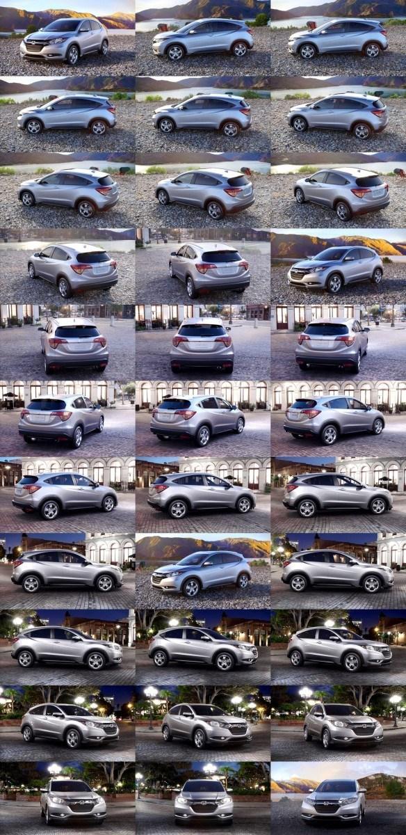 2016 Honda HR-V - Alabaster Silver Metallic (CVT only) 1-tile