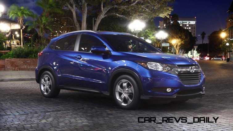 2016 Honda HR-V - Deep Ocean Pearl (CVT only) 28