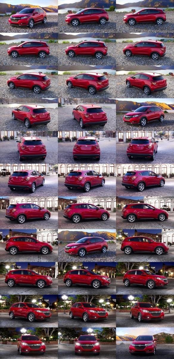 2016 Honda HR-V - Milano Red (CVT only) 1-tile