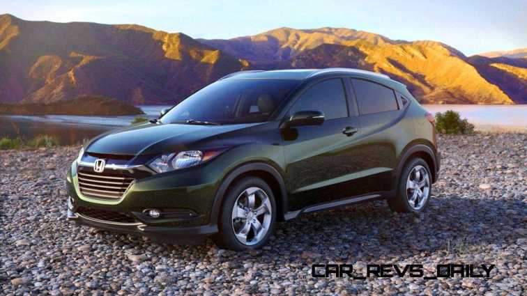 2016 Honda HR-V - Misty Green Pearl 12