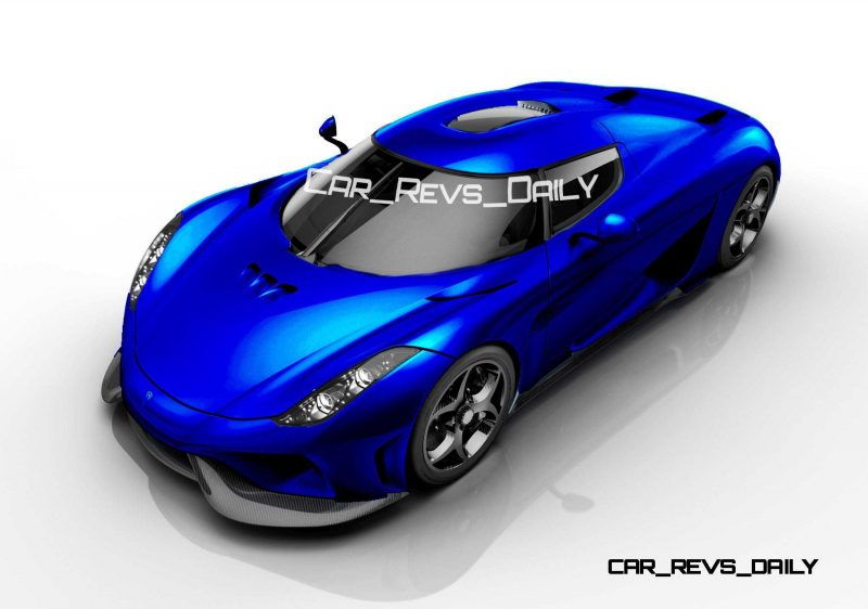 Koenigsegg Regera Colors HQ 10