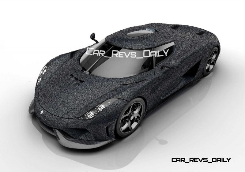 Koenigsegg Regera Colors HQ 8
