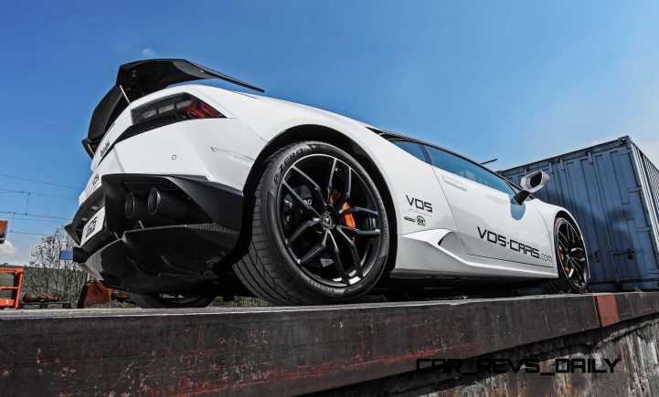 VOS Tuning for Lamborghini Huracan 20